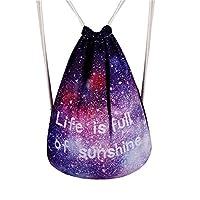Remeehi バッグ カバン ファッション 収納用 袋 きれい 入学 旅行 トラベル 贈り物 スカイ