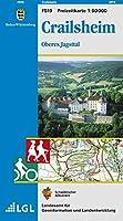 LGL BW 50 000 Crailsheim Freizeitkarte: Oberes Jagsttal