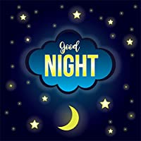 lfeey Baby Dream Backdrops Sweet Good Night Twinkle Stars写真背景写真スタジオ小道具