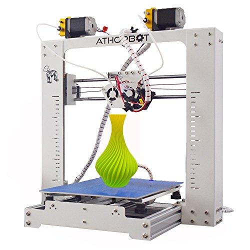 「新機種」 Athorbot デュアル押出/色 混色 3Dプリンター 本体 Buddy Couple 印刷サイズ210*270*200mm 0.1KGフィラメント付属 ABS/PLA/NYLON対応