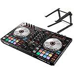 PIONEER DJコントローラー+スタンドセット / DDJ-SR2 + PCスタンド / SERATO DJ対応 / PITCH 'N TIME DJ同梱