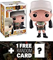 Rosita: Funko POP x Walking Dead Vinyl Figure + 1 FREE Official Walking Dead Trading Card Bundle (110679)
