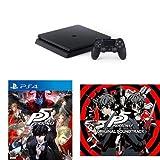 PlayStation 4 ジェット・ブラック 500GB(CUH-2000AB01) + ペルソナ5 【Amazon.co.jp限定特典配信】 - PS4 + 『ペルソナ5』サントラ セット