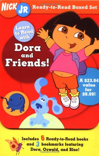 Nick Jr. Ready-to-Read Boxed Set: Learn to Read with Dora and Friends! (Ready-To-Reads)の詳細を見る