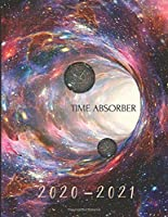 2020-2021 2 Year Planner Outer Space Wormhole Monthly Calendar Goals Agenda Schedule Organizer: 24 Months Calendar; Appointment Diary Journal With Address Book, Password Log, Notes, Julian Dates & Inspirational Quotes