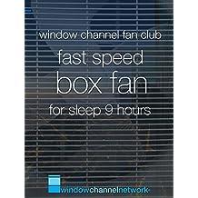 Fast Speed Box Fan for sleep 9 hours