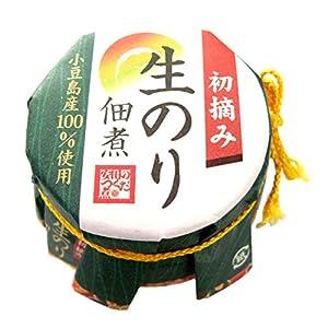 安田食品 初摘み生のり佃煮 90g×10本