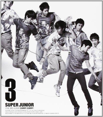 Super Junior 3集 - Sorry, Sorry (バージョン C)(韓国盤)