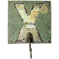創造的なレトロ家具の部屋の服の帽子キーホック、手紙X
