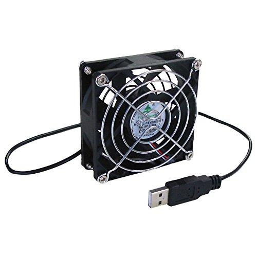 タイムリー USBファン [ 80mm角ファンモデル ]  BIGFAN80U for Men