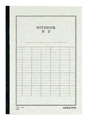 コクヨ 統計ノート 6号(セミB5) 40枚 ノ-4V