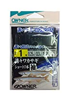 OWNER(オーナー) W-3569誘々ワカサギショート7本袖1-0.25