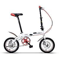 YANFEI 子ども用自転車 折りたたみ自転車サドル635ミリメートル14インチ6歳の少女少年学生 子供用ギフト