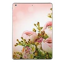 第1世代 iPad Pro 12.9 inch インチ 共通 スキンシール apple アップル アイパッド プロ A1584 A1652 タブレット tablet シール ステッカー ケース 保護シール 背面 人気 単品 おしゃれ フラワー 写真・風景 花 フラワー ピンク 005354