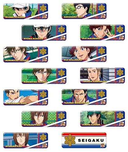 ロングカンバッジコレクション 新テニスの王子様 青学 BOX商品 1BOX=14個入り、全14種類