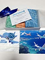 ANA A380 ホノルル 就航 記念品 ハンカチ フライングホヌ バゲージタグ