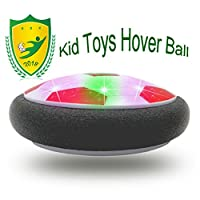 3つDucks Kids Toys Amazing LED Hover Football For Kid Best Gifts レッド