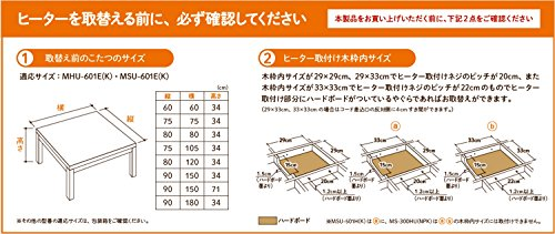 メトロ電気工業『MCU-501EC(K)』