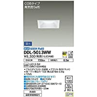 大光電機:ダウンライト(軒下兼用) DDL-5013WW