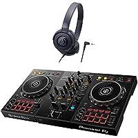 Pioneer DDJ-400 デジタルDJ初心者セットLite (ブラック) [本体+rekordbox DJ+audio-technica ヘッドホン] パイオニア