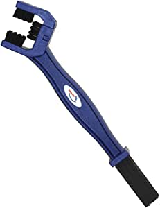AZ(エーゼット) バイク用 3面チェーンブラシ バイクチェーンの掃除に最適(KD054)