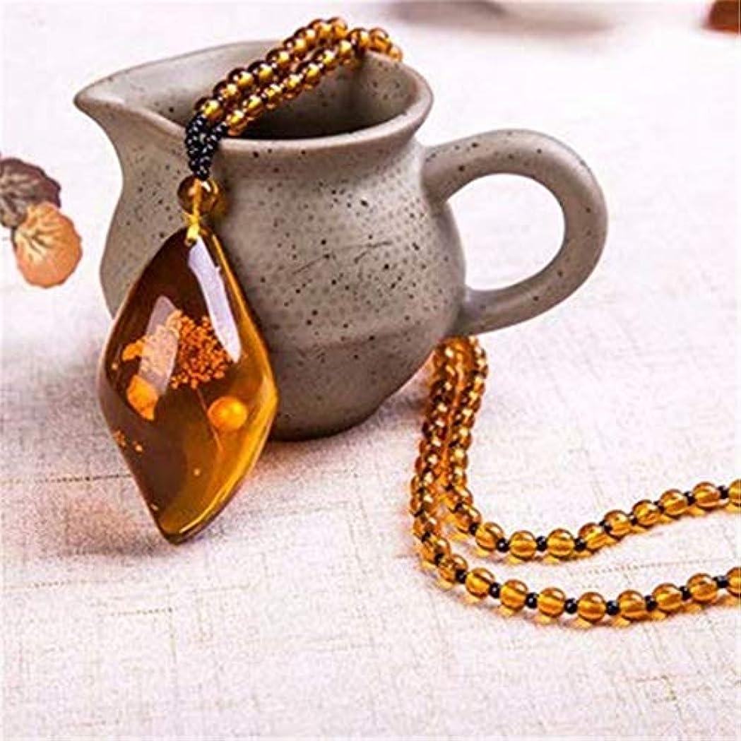 豊富な取り付け中世の七里の香 石 ペンダントメンズレディース長さ調節可能