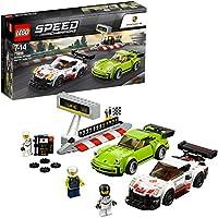 レゴ(LEGO) スピードチャンピオン ポルシェ 911 RSR と 911 ターボ 3.0 75888