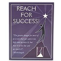 Pinmart 's Reach For Successプレゼンテーションカードとラペルピン 25
