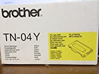 Brother 04yイエロートナーカートリッジ。イエロートナーカートリッジ6600 PG YLD FOR hl2700cn & mfc9420cn l-supl。レーザー – 6600ページ – イエロー – 1