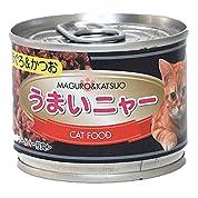 猫缶 うまいニャー まぐろ&かつお 120g