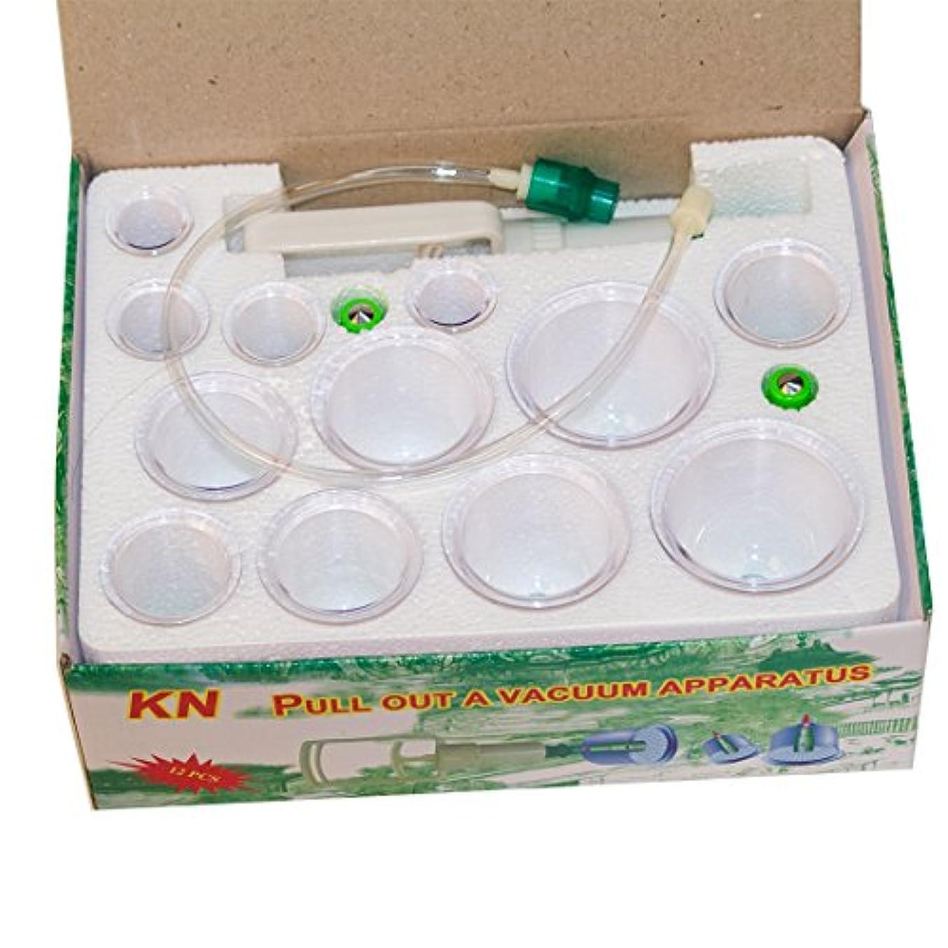 内側抽出予防接種するYoungshion中国の伝統的な医学の真空ボディカッピングセットポータブルヘルスケアセラピーマッサージセット、12個/セット