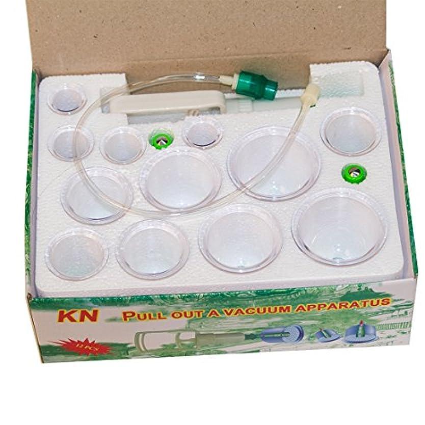 意味のある競争力のある受粉者Youngshion中国の伝統的な医学の真空ボディカッピングセットポータブルヘルスケアセラピーマッサージセット、12個/セット