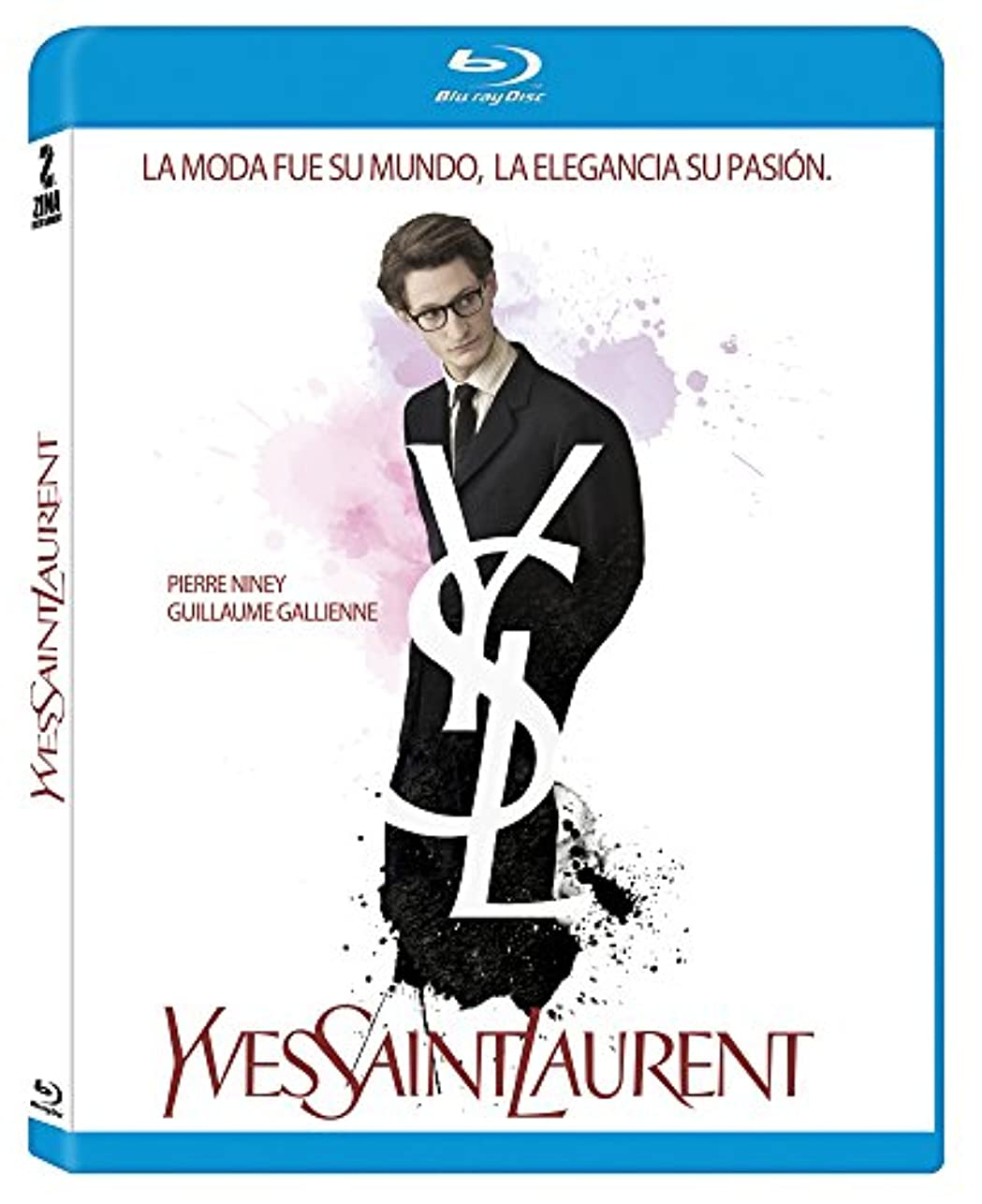 スプリット肥沃な入植者Yves Saint Laurent Movie Blu Ray (Multiregion) (French Audio with Spanish Subtitles / No English Options)