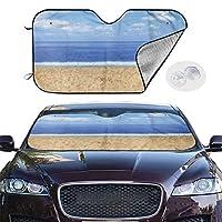 車用 サンシェード 2サイズ 頼れる紫外線/日差しカット機能 かんたん取り付け/取り外し ドアポケットに 折り畳み式 M