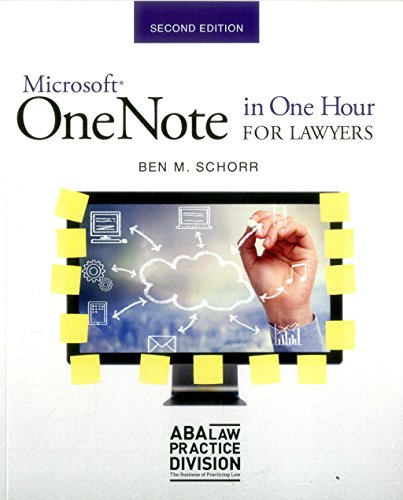 Download Microsoft OneNote in One Hour for Lawyers 163425676X