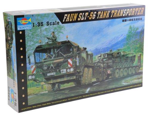 1/35 ドイツ軍 ファウンエレファントSLT-56 タンクトランスポーター