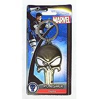 MARVEL(マーベル)PUNISHER(パニッシャー)Logo Pewter Keyring(キーホルダー) [並行輸入品]