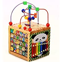 Selfies 6in1あそび箱 よくばりボックス マルチプレイセット 木のおもちゃ 子供 幼児 知育玩具(誕生祝い、こどもの日)