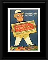 Rowntree's Motoring Chocolate - Vintage Advertisement 1920s Framed Mini Poster - 53x43cm