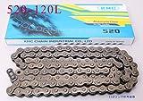 KMCチェーン 520-120L CR250R CBR600RR XR600R CBR1000RR GSXR600 GSXR1000 YZ450F YZF R1 ZX6R ZX10R YZF R6 KX450F/R RM250 WR250Z CRF250 RMZ450 WR250F …