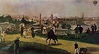 マネ・「1867年のパリ万国博覧会」 プリキャンバス複製画・ ギャラリーラップ仕上げ(8号サイズ)