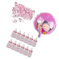 SONONIA ベビーシャワー パーティー 飾り ミニおしゃべり バルーン キャンディボトル