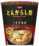 「日清のとんがらし麺 うま辛海鮮 64g×12個」のサムネイル画像
