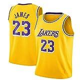 Men's Jersey Basketball-Lakers#23 LeBron James Basketball Jersey Los Angeles Lakers Jersey S-XXL-D-XL