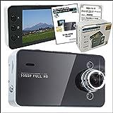 フルHD対応 ドライブレコーダー Gセンサー搭載 HDMI出力 動体感知 自動録画対応 防犯カメラ K6000