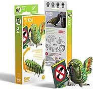 EUGY 047 Kea Eco-Friendly 3D Paper Puzzle
