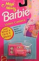 マジックMovesバービーVideo Camera–Wind It Up & It Works 。( 1993Arcotoys , Mattel )