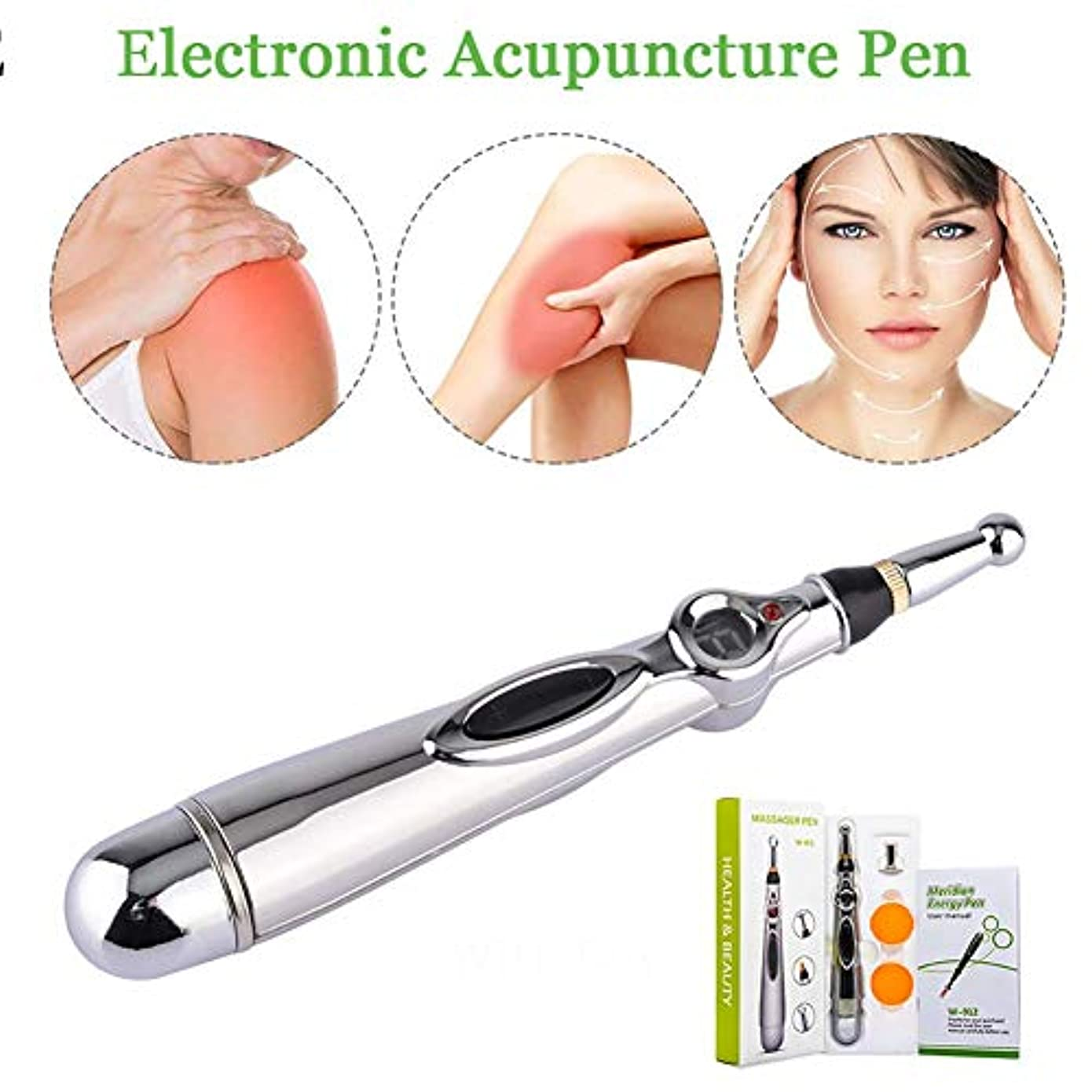 城シェル代わりの電子鍼ペン、パルスエネルギー経絡マッサージは、関節炎の筋肉の痛み腰痛のための痛みを和らげます