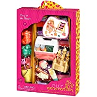 Beach Accessory Set for 18 Dolls -Our Generation Day at the Beach [並行輸入品]
