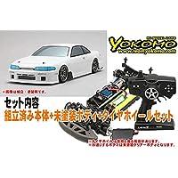 ヨコモ ドリフトレーサー+デカールレスボディセット 品番DP-DRG3-1093B